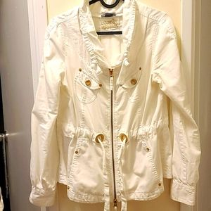 Armani excenge white jacket in very good condition